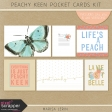 Peachy Keen Pocket Cards Kit
