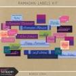 Ramadan Labels Kit