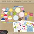 Blue Skies & Lemonade Print Kit