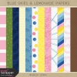 Blue Skies & Lemonade Papers Kit