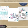 Summer Day Art Prints Kit #1