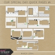 Our Special Day Quick Pages Kit #1