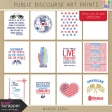 Public Discourse Art Prints Kit