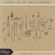 School of Art: Music Doodles