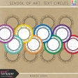 School of Art: Text Circles Kit