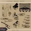 Vintage Images Kit - Music