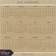2018 Calendars Kit