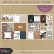Autumn Day Pocket Layout Kit