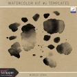 Watercolor Kit #2 Templates
