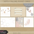 Softly Falling Pocket Cards Kit