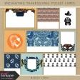 Enchanting Thanksgiving Pocket Cards Kit