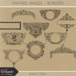 Vintage Images Kit - Borders