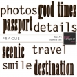Travel Words Kit