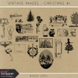 Vintage Christmas Images Kit #1