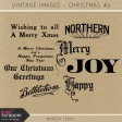 Vintage Christmas Images Kit #4