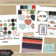 A Vintage Christmas Print Kit