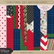 Christmas Day Backgrounds Kit