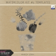Watercolor Kit #3 Templates