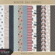 Winter Day Papers Kit