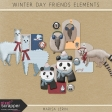 Winter Day Friends Elements Kit