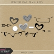 Winter Day Templates Kit