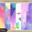 Watercolor Kit #4 - Papers