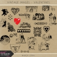 Vintage Images Kit - Valentines