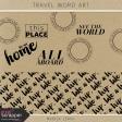 Travel Word Art Kit