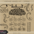Vintage Images Kit - Spring
