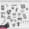 Seriously Sweet Illustrations Kit