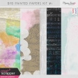 Build Your Basics Painted Papers Kit #1