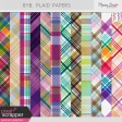 BYB Plaid Papers Kit