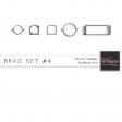 Brad Set #4 - Chrome Kit