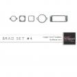Brad Set #4 - Copper Verd Kit