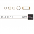 Brad Set #4 - Gold Kit