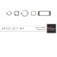 Brad Set #4 - Pewter Kit