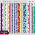 Build Your Basics Damask Papers Kit #1