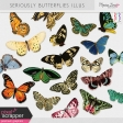 Seriously Butterflies Illustrations Kit