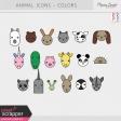 Animals Color Illustrations Kit