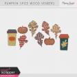 Pumpkin Spice Wood Elements Kit