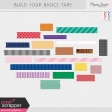 Build Your Basics Washi Tape Kit #1
