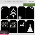 Cut Files Kit - Holiday Tags