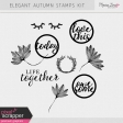 Elegant Autumn Stamps Kit