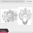 Thanksgiving Coloring Pages Kit