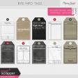 Build Your Basics Info Tags Kit