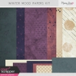 Winter Mood Papers Kit
