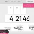 Weekly Pocket Cards Kit #2