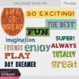 Challenged Word Arts Kit