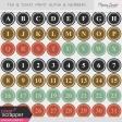 Tea & Toast Print Alphas & Numbers Kit