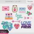 Valentine Clip Art Kit